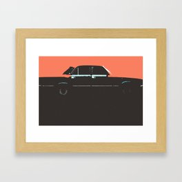 Volga pop Framed Art Print