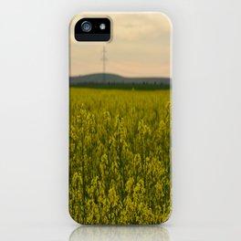 sun in the nature iPhone Case