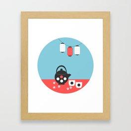 Tea time, Japan Framed Art Print