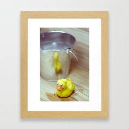 Patito Framed Art Print