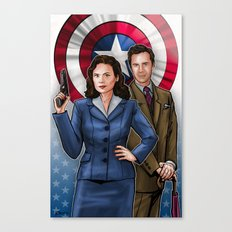 Peggy and Jarvis Canvas Print