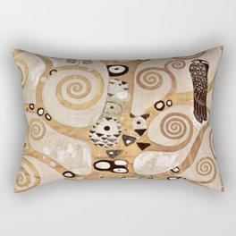 Gustav Klimt - Lebensbaum Rectangular Pillow