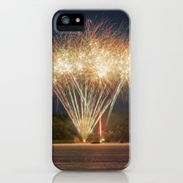 Fireworks Over Lake 29 iPhone Case