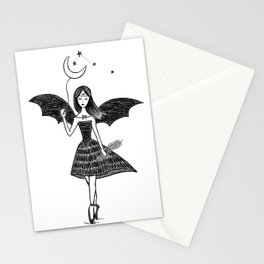 Dancing Ballerina Witch Stationery Cards