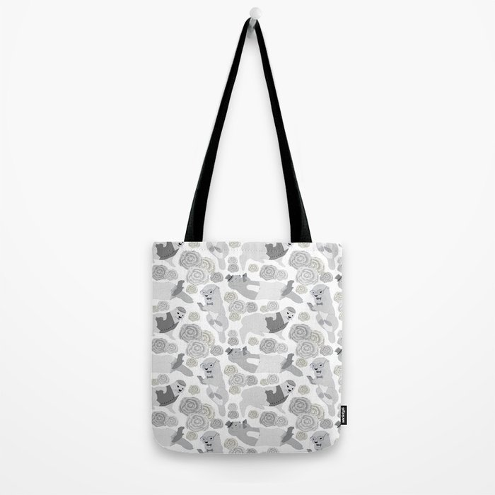 Hipster otters Tote Bag