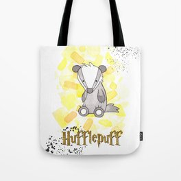 Hufflepuff - H a r r y P o t t e r inspired Tote Bag