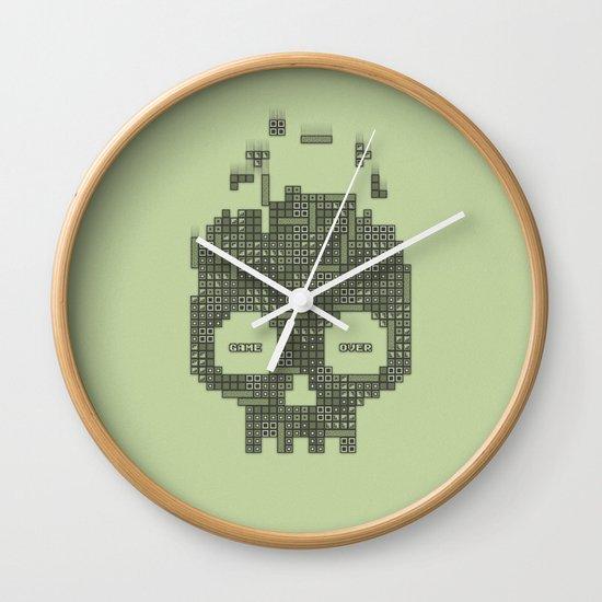 Dead Boy Wall Clock