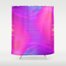 iDeal - Electrified CottonCandy Shower Curtain