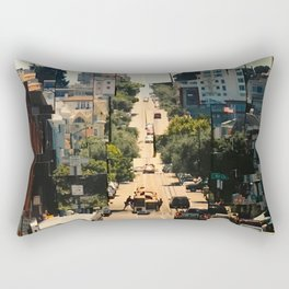It's a Cubist's World Rectangular Pillow