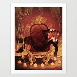 Crowley Art Print