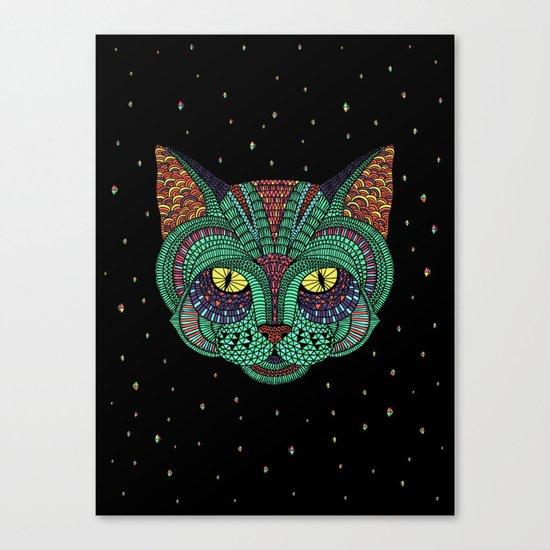 Intergalactic Cat Canvas Print
