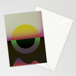 Solar Horizon Stationery Cards