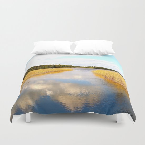 View From The Bridge Duvet Cover