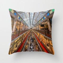 The Strand Arcade, Sydney Throw Pillow
