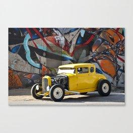 American Grafitti Canvas Print