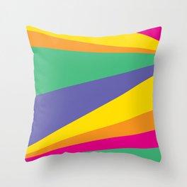 Color lighting Throw Pillow