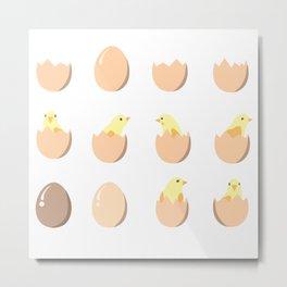 Chicks Metal Print