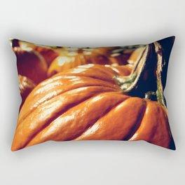 Shiny Pumpkins Rectangular Pillow