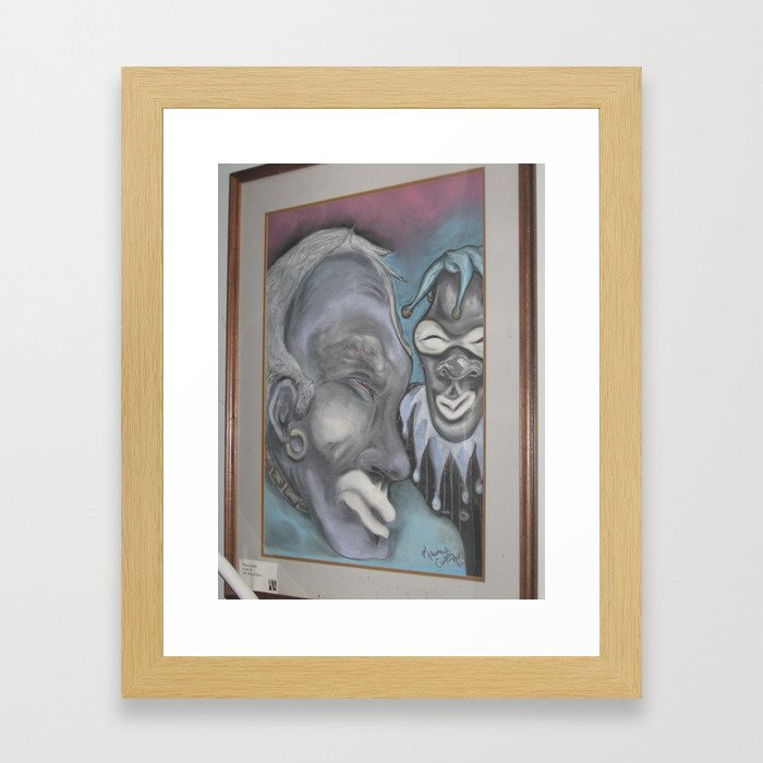 Dave the Jester Framed Art Print
