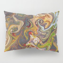 Abstract Oil Painting 26 Pillow Sham