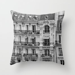 Paris Architecture Photography Throw Pillow