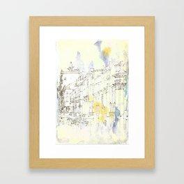 Nothing,my dear, endures Framed Art Print
