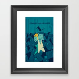 The Birds Framed Art Print