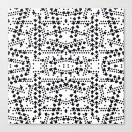 black square elements Canvas Print