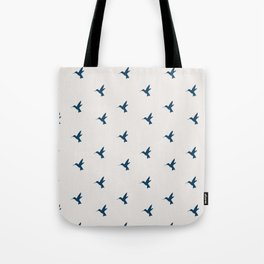 Hummingbird Flight Tote Bag