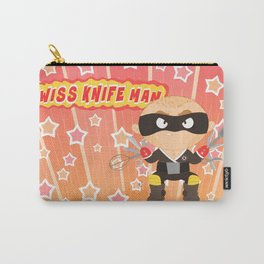 Swiss Knife Man Carry-All Pouch