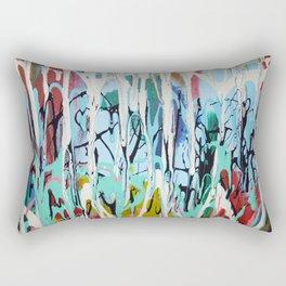 Paint Drip Rectangular Pillow