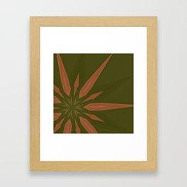 Box Wine Kaleidoscope Square II (Bota Box Chardonnay II) Framed Art Print