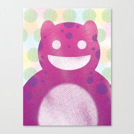 Sasha Monster Canvas Print