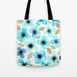 Lilly Blue Tote Bag