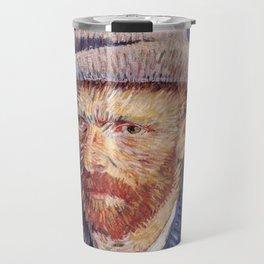 Self-Portrait with Grey Felt Hat by Vincent van Gogh Travel Mug