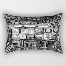 Lost cabin 666 Rectangular Pillow