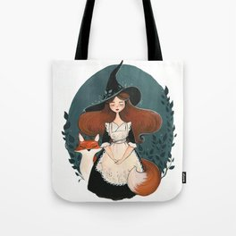 Botanical Witch Tote Bag
