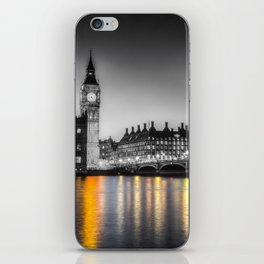 Westminster At Night iPhone Skin