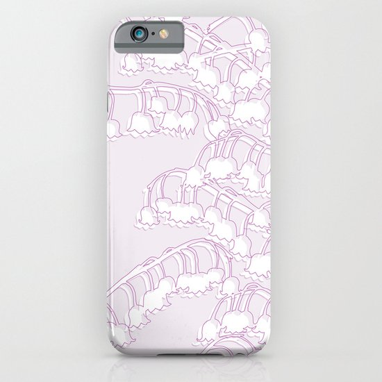 Lilac Lily iPhone & iPod Case