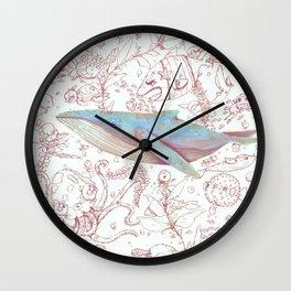 Calm Pacing Wall Clock