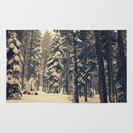 Winter Dream Scene Rug