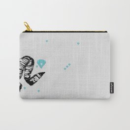 ram skull and diamonds Carry-All Pouch