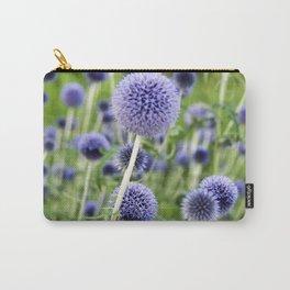 BLUE FLOWERHEADS - Botanical Garden Carry-All Pouch