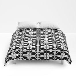 BW-pattern 3 Comforters