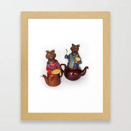 TEA TIME 7 Framed Art Print