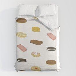 biscui - biscuit pattern Duvet Cover
