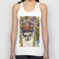 indiana jones Tank Tops featuring Indiana jones till the end by MGNFQ