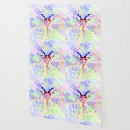 Capricorn neon Wallpaper