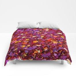 Forest Floor in Autumn Comforters