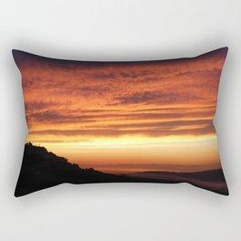 Montefiore dell'Aso Sunrise (2 of 2) Rectangular Pillow